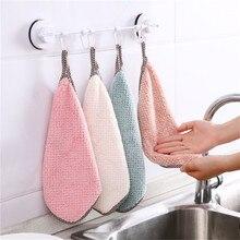 Steaman serviette de nettoyage en molleton de corail   Chiffon Super absorbant, chiffon de nettoyage, serviette de cuisine domestique, serviette de nettoyage en molleton de corail