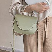 Sac à bandoulière en cuir pour femmes 2020 mode MINI sac à bandoulière femme Simple sacs à main et sacs à main fourre-tout