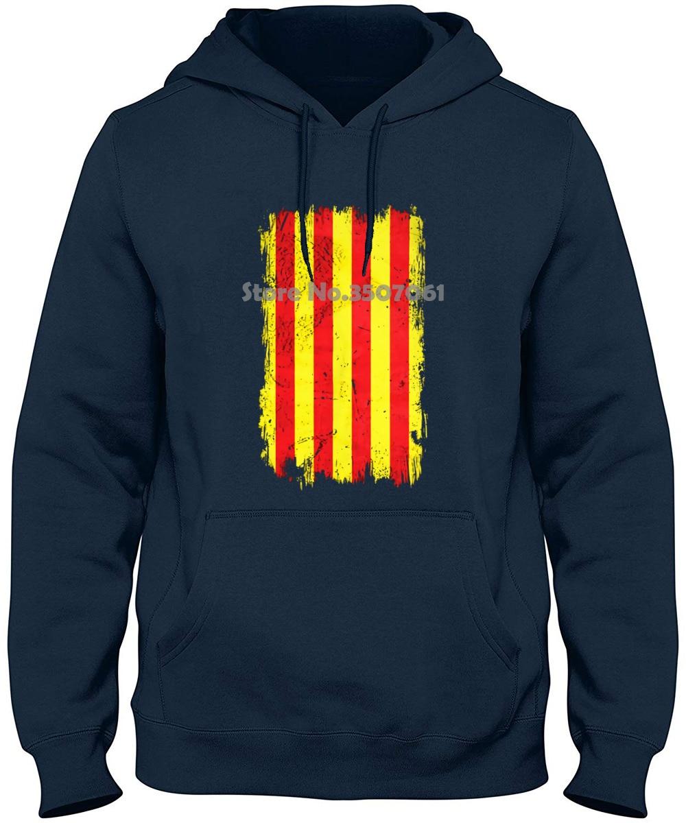 Cataluña Grunge bandera Top para hombre Catalunya catalana Gif 2019 moda 100% de algodón Top ajustado gimnasio corredor camiseta t shirt