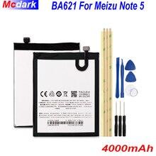 4000mAh BA621 Meizu 참고 5 배터리 배터리 Meizu meilan Note 5 M5 Note Bateria 휴대 전화 Batterij 배터리 + 도구