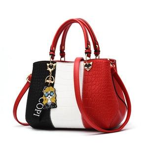 Women Casual Totes Bag For Women 2021 Patchwork Handbag Party Purse Ladies Messenger Crossbody Shoulder Bags Women Handbags