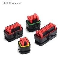 1 set tyco 8 14 23 35 pin ecu automotive male female black connector electrical wire connectors plug 770680 1 776273 1 776164 1