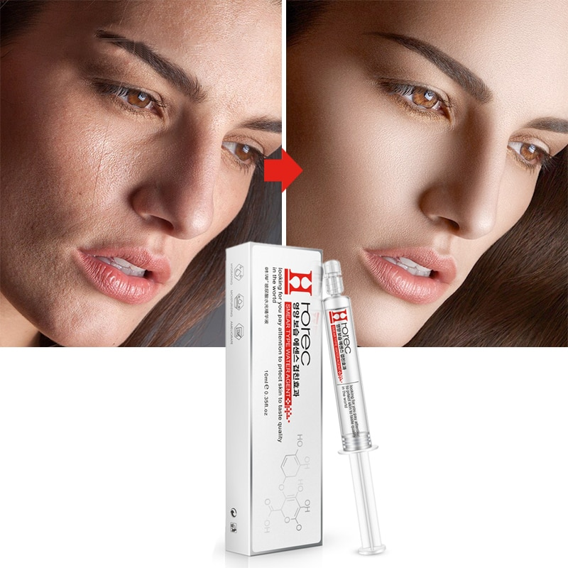 Hyaluronic Acid Face Essence Anti-Wrinkle Moisturizing Anti Aging Collagen Shrink Pores Facail Serum Whitening Skin Care