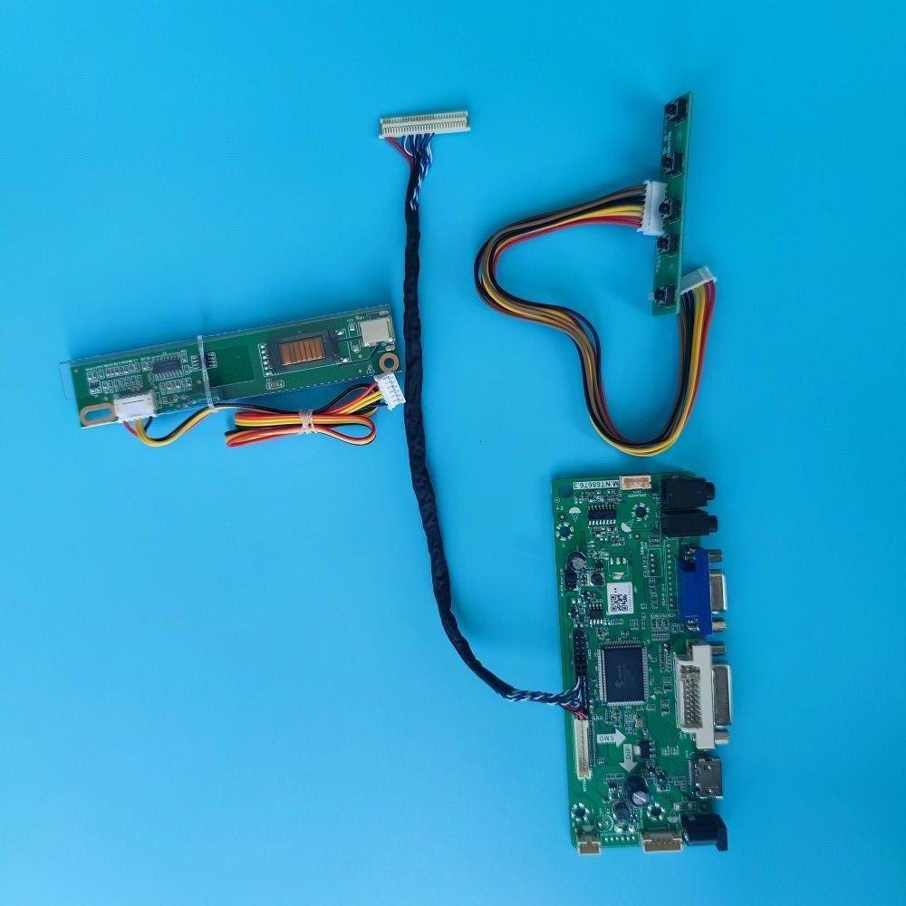 عدة ل B154SW01 VB/V1/V2/V4/V5/V7/V8/V9 HDMI-متوافق DVI VGA وحدة تحكم بشاشة إل سي دي لوحة 30Pin 1680X1050 لوحة M.NT68676 15.4