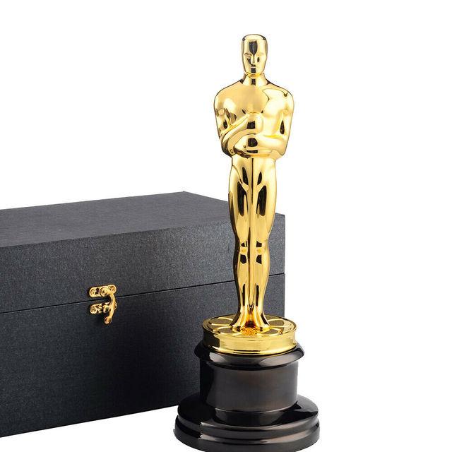 Tamaño Completo De Aleación De Zinc De Oscar Trofeo Premios 1 1 13 5 Pulgadas Réplica Oscar Trofeo De La Película De La Tv De Trofeo Recuerdos De Premio Grabado Gratis Engraver Engraved Trophyengraving Metal