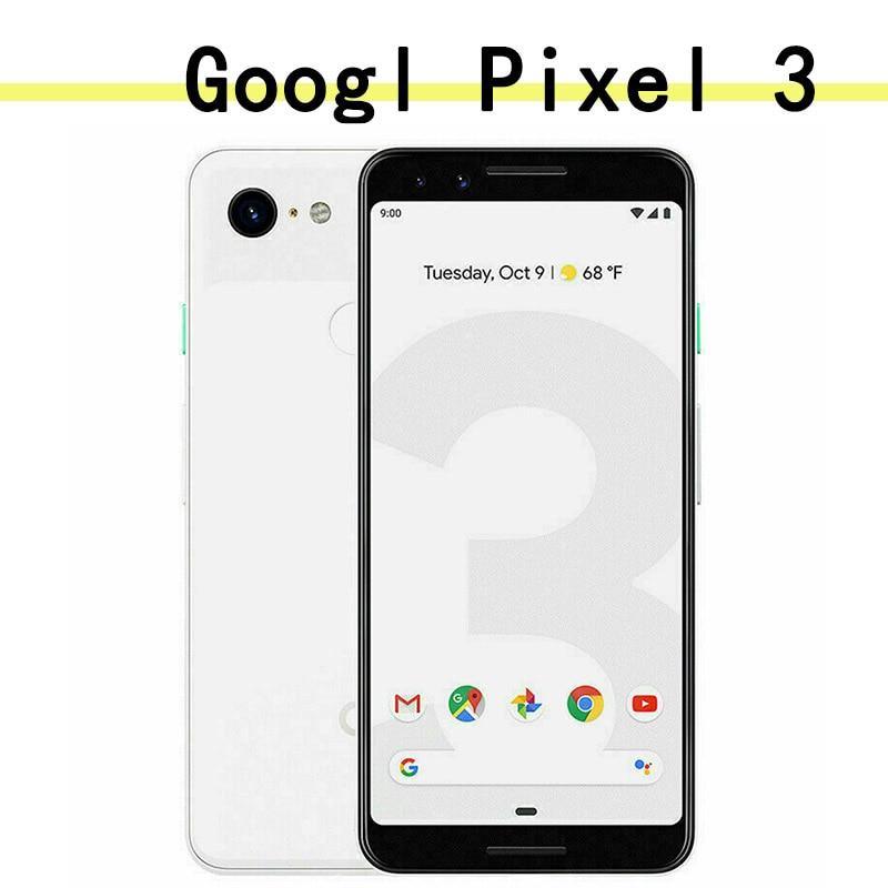 Google Pixel 3 smartphone 4GB 128GB Rom Android 9.0 Octa Core Snapdragon 845 1080 x 2160 pixels Fast charging 18W