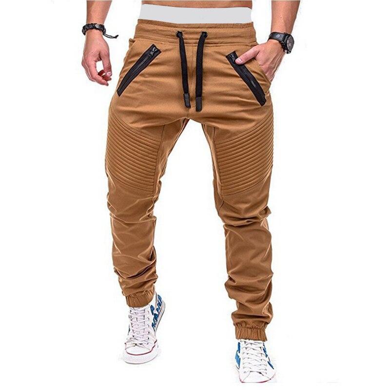 Штаны спортивные мужские в стиле хип-хоп, джоггеры, брюки-карго, Повседневная Уличная одежда, модные штаны в стиле милитари