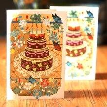 Cartes de vœux faites à la main   Carte Pop Up 3D, carte florale 72XF, Invitation de mariage danniversaire, nouvelle collection