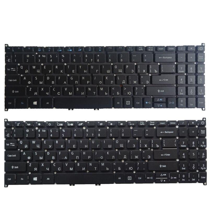 Ruso/RU teclado del ordenador portátil para Acer Aspire A515-56 A515-56G A315-42 A315-42G...