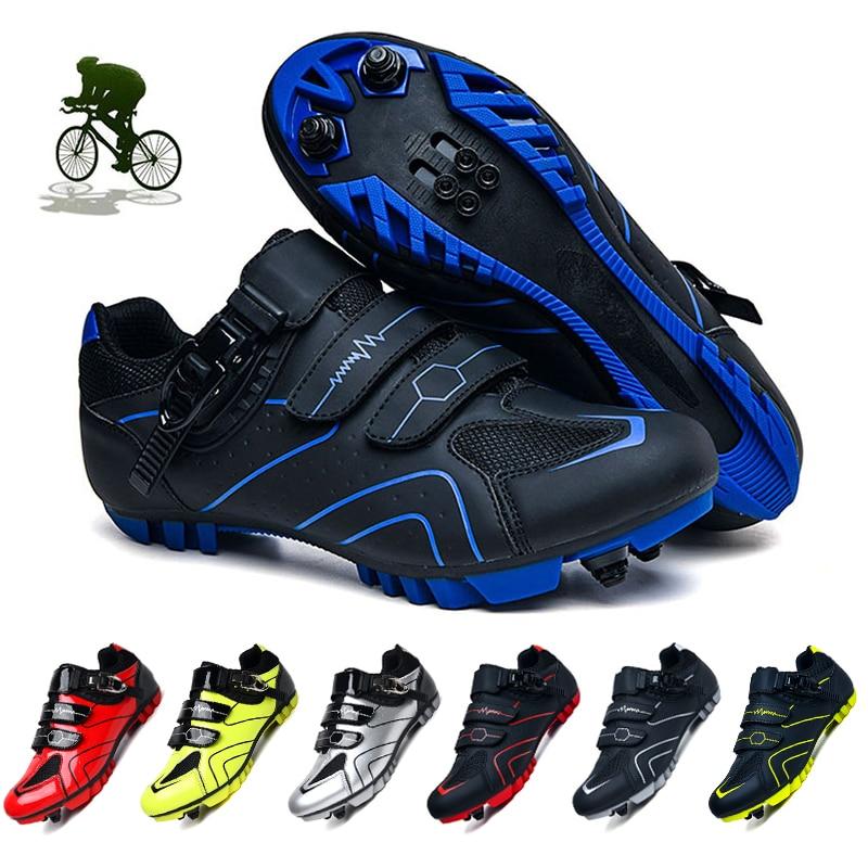 دراجة هوائية جبلية ذاتية القفل غير قابلة للانزلاق دراجة هوائية جبلية أحذية رياضية لركوب الدراجات أحذية رياضية للرجال أحذية رياضية احترافية