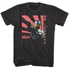 Robocop Japan Sunshine Cyborg Police Force Mens T Shirt Robot Sci-Fi Movie Black
