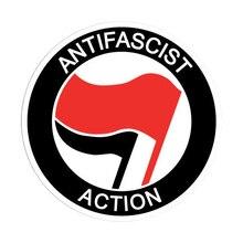 Antifa Antifascist Decal Sticker Pegatina Laptop Car Antifaschistische Aktion Cover Scratches Decora