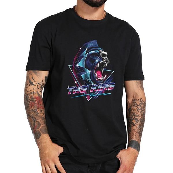 the king Mens T Shirt Men T-shirt недорого