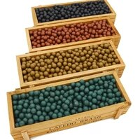 500 1000pcs slingshot beads bearings mud hunting slingshot mud ball solid drawing board clay mud ball hunting high quality
