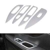 abs chrome door window armrest cover switch button panel trim for nissan qashqai j11 2015 2019 cover accessories