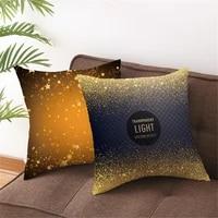 custon gold fish pillowcases decorative sofa room bed pillow cover home car cute cushion case 4545cmone side tpr061