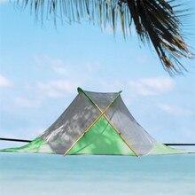 Grande tente extérieure de 3-4 personnes, hamac de Camping, hamac de moustiquaire, tente suspendue, tente darbre de Camping accrochante darbre