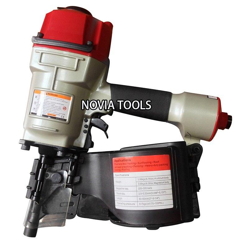 المهنية الهواء البليت لفائف بائع المسامير مسدس مسامير CN80