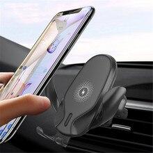 Nouvelle mise à niveau chargeur de voiture montage 10W chargeur sans fil Compatible pour iPhone Xs/Max/XR/8/8 Plus/Galaxy S9/S9 +/S8/S8 +/Note9/S7 CSV