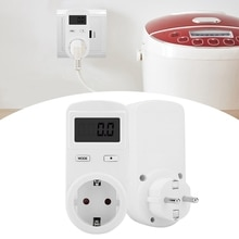SOONHUA compteur dénergie économiseur dénergie moniteur tension Watt prise électrique analyseur électricité prises de mesure 230V