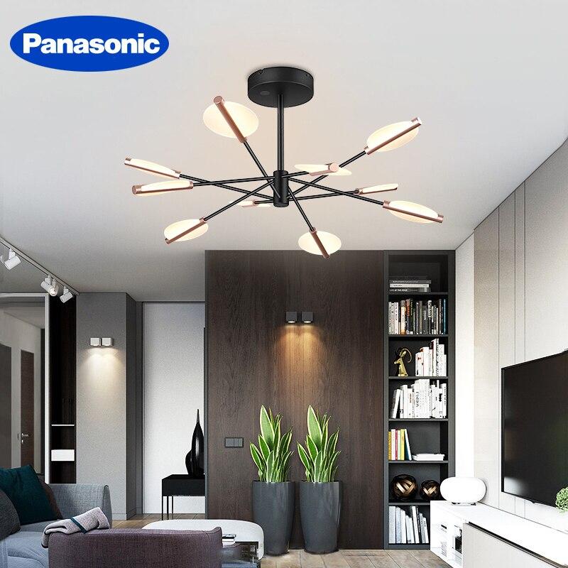 Panasonic Led Light Guide Chandeliers Living Room Chandelier Modern Ceiling Lamp Lighting Fixtures