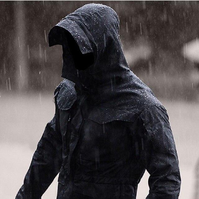 M65 ملابس عادية التكتيكية سترة واقية الرجال مقاوم للماء الطيران الطيار معطف هوديي الحقل سترة الشتاء الخريف