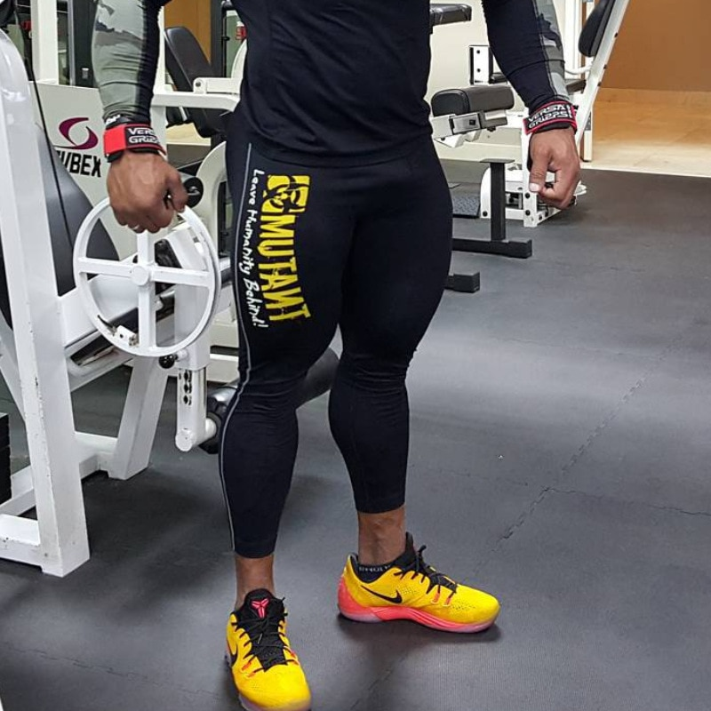 Men Leggings Compression Quick dry Skinny Pants Man Gyms Fitness Workout Muscle Bodybuilding Trousers Male Joggers Sportswear