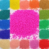 10g 720 pieces 2mm austria solid color bead 120 opaque neon round beads glass seed beads handmade diy jewelry bags accessories