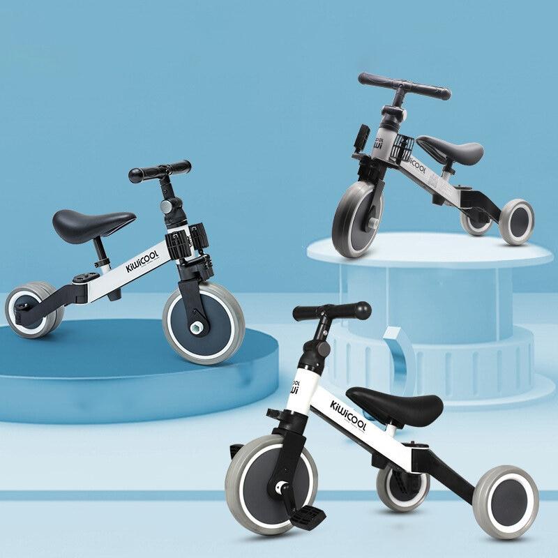 3in1 التوازن الدراجة والأطفال المبتدئين متسابق التدريب ووكر دراجة و دراجة أطفال ثلاثية دراجة سكوتر للأطفال 1.5/2/3/4/5 سنة