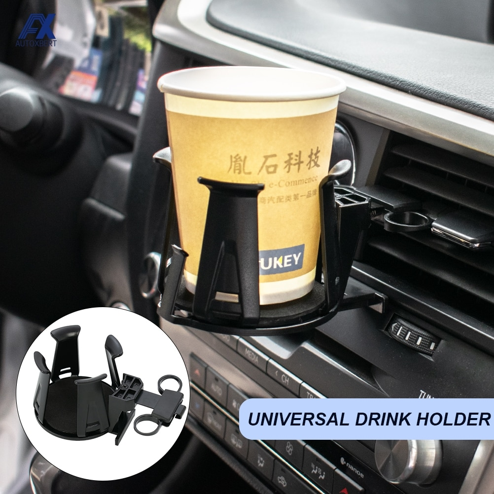 Universal Car Air Outlet Vent Cup Holder Drink Water Cup Bottle Can Sunglass Door Mount Stand For Tr