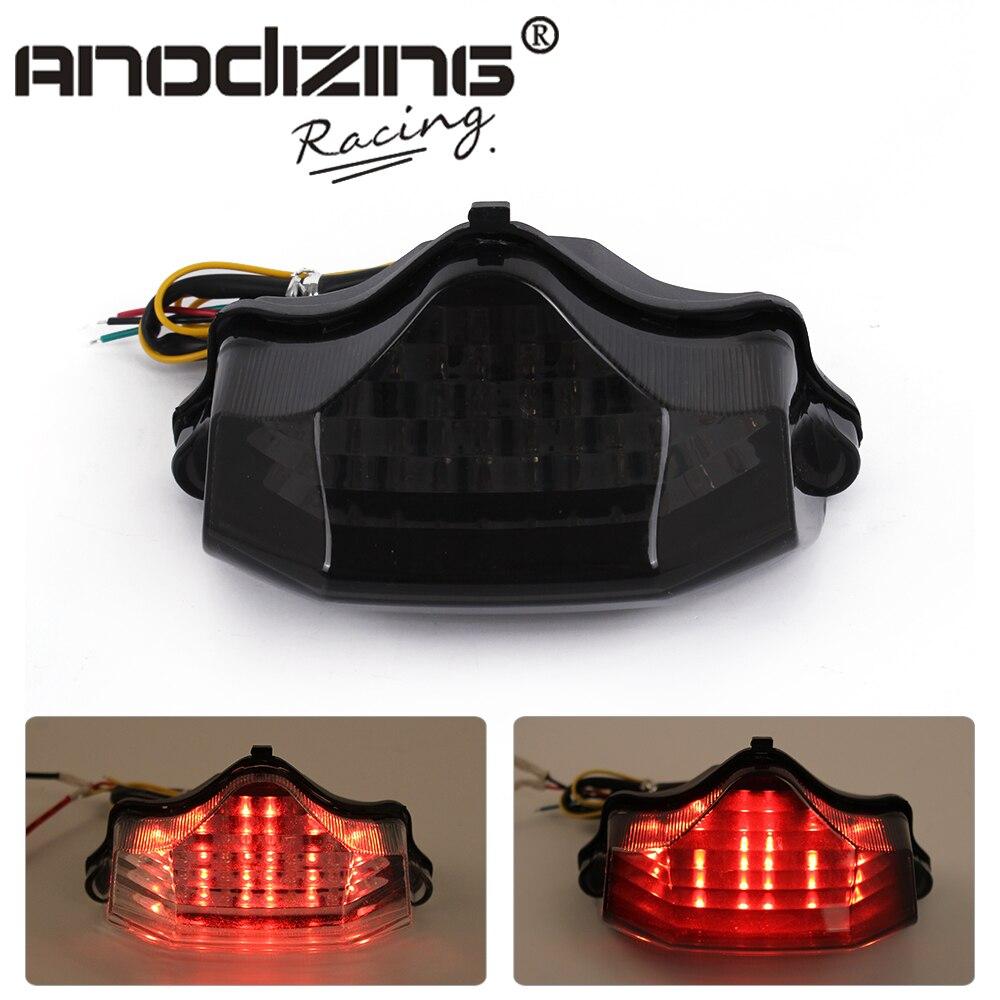 Motorcycle Led Tail Brake Turn Signal Integrated Light for Yamaha FZ600 FZ6 04-09