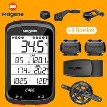 Magene C406 Bicycle GPS Computer MTB Road Cycle Smart Wireless Waterproof Speedometer Garmin Bike Accessories S3+ H64 For Strava