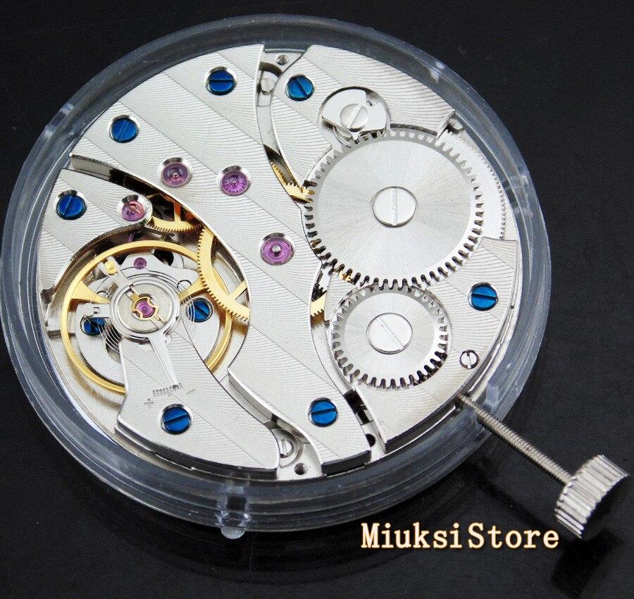 Apto para Relógio Assista Movimento Jóias Mecânica Ásia 6497 Mão-enrolamento Mecânico Masculino 17