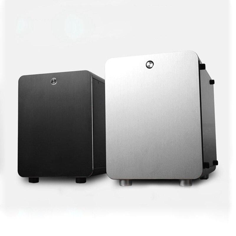 Carcasa enfriadora para PC, Mini ITX, chasis vacío, caja de gabante Vertical,...