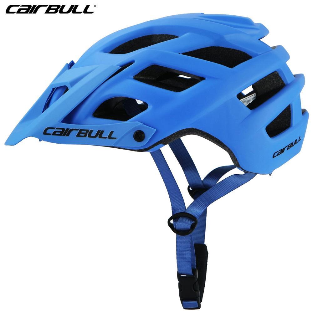 CAIRBULL матовый цветной велосипедный шлем для горного велосипеда bmx шлем в форме MTB шоссейные велосипедные шлемы для верховой езды спортивная Защитная крышка