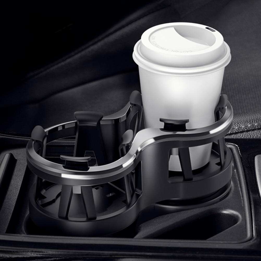 Новый Автомобильный держатель для стаканов, портативный многофункциональный органайзер для салона автомобиля, держатель для стакана с отв...