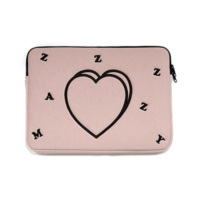 Korean Love Print Tablet Protection Case Laptop Bag for 12/13/15Inch Sleeve Macbook Air Pro HUAWEI Brand