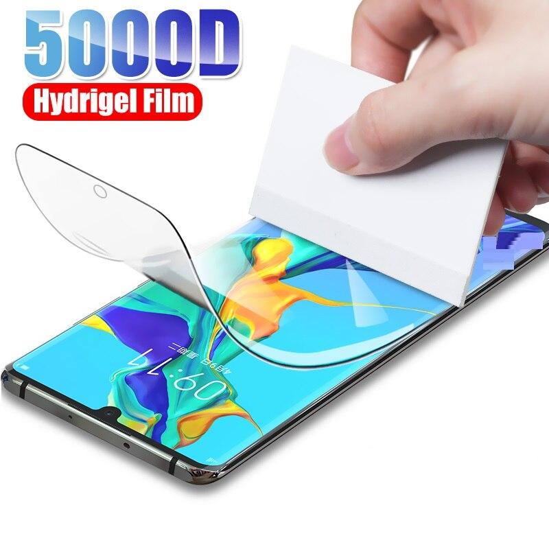Hydrogel Film For Huawei Y6S Y7S Y8S Y9S Y8P Y7P Y6P Y5P Y5 Lite Y9 Y7 Y6 Prime 2018 2019 Glas Screen Protector Protective Film