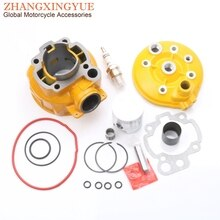 Kit de cylindre grand alésage 70cc 47mm   Kit de Piston et joint de cylindre pour YAMAHA DT50 Enduro SM DT50R DT50X TZR50R 50cc LC AM6 2T