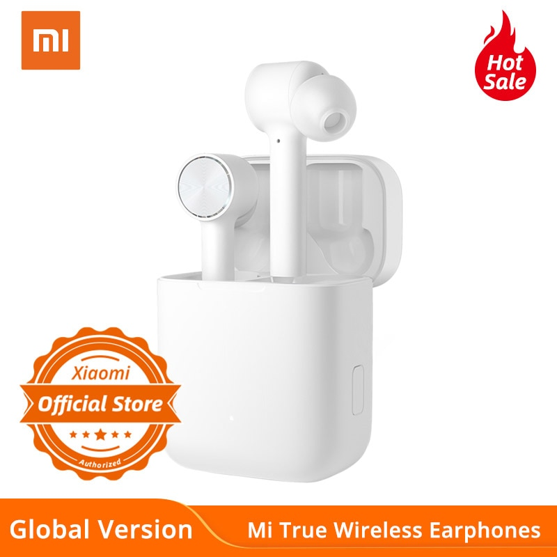 Auriculares inalámbricos Xiaomi versión Global mi True Bluetooth Air ANC ENC reducción activa de ruido TWS Control táctil auriculares AAC HD