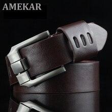 New Hasemeka Designer Belts Men High Quality Genuine Leather Belt for Men Luxury Ceinture Homme Mili
