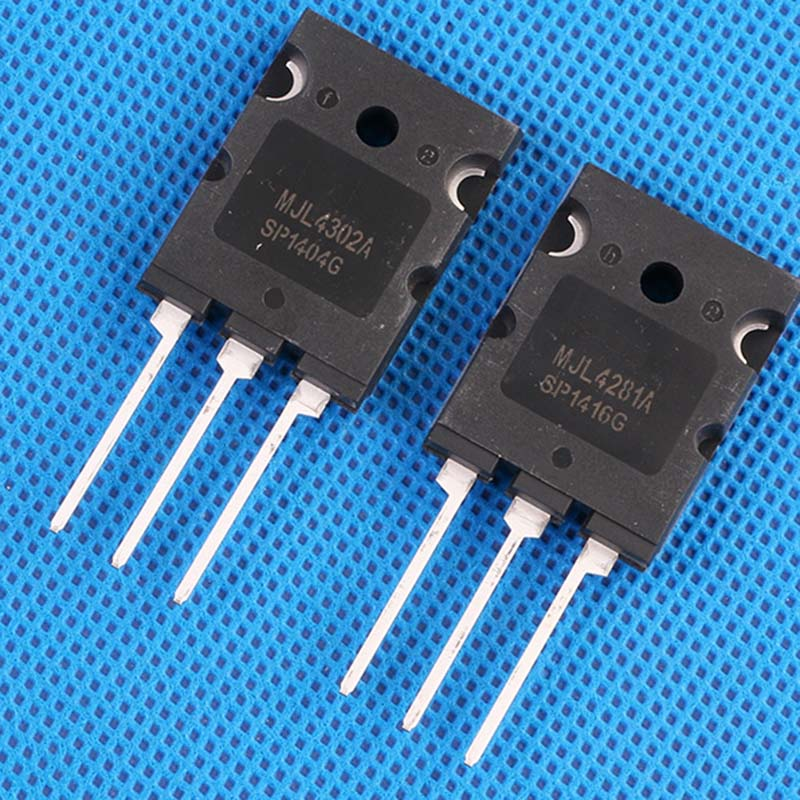 Nova 5 Pares MJL4302A MJL4302 MJL4281A MJL4281 MJL4281AG MJL4302AG TO-3PL 10pcs