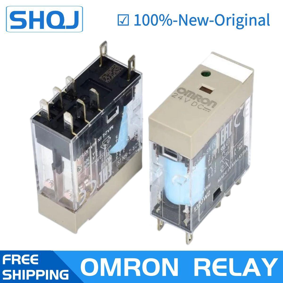 اومرون تتابع G2R-2-SND(S) 24VDC DC24V G2R-2-SN(S) 220VAC 24VDC P2RF-08-E العلامة التجارية جديد ومبتكرة تتابع