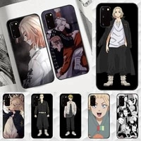 anime tokyo revengers mikey phone case for samsung a6 a6s a9 a530 a720 a750 a8 a9 a10 a20 a30 a40 a50 2018 cover coque