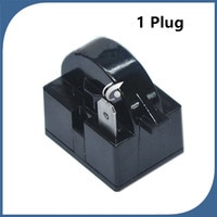 1pcs new for Refrigerator fittings freezer PTC starter thermal protector relay QP2-12 QP2-22 QP2-22 QP2-33 QP2-15 1 Plug