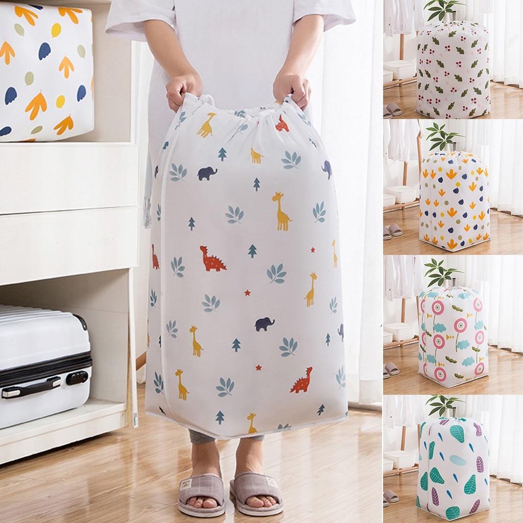 Roupa dobrável saco de armazenamento de embalagem de brinquedo colcha roupas armário saco de bagagem para travesseiro cobertor cama grande organizador