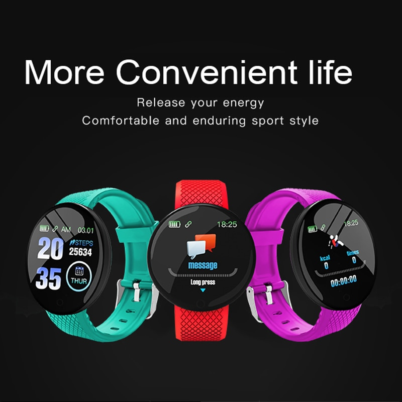 B28 New Smart Band Bracelet IP67 Waterproof Smarthwatch Blood Pressure Fitness Tracker Pedometer Smartband Fitness Wristbands