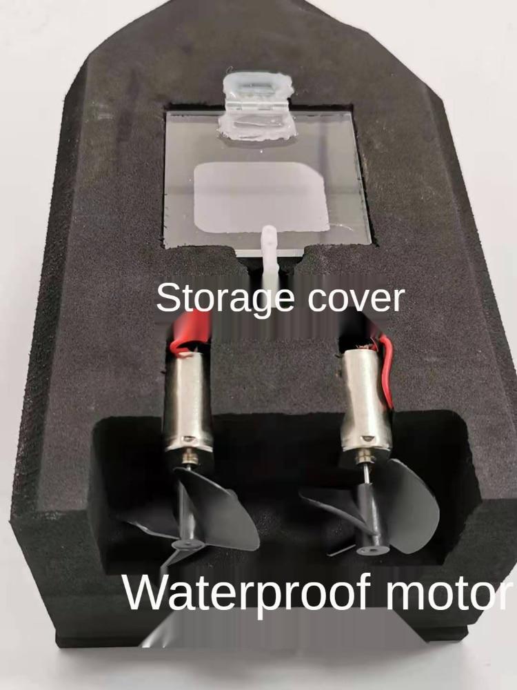 Remote Control Nesting Boat High-power Genuine Wireless Smart Nesting Artifact Send Hook Bait Boat Fishing Boat Trawling Fish enlarge