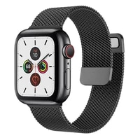 strap for apple watch band 44mm 40mm 38mm 42mm 44 mm accessorie magnetic loop metal smartwatch bracelet iwatch serie 3 4 5 6 se