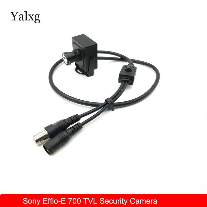 Caméra de vidéosurveillance haute résolution Sony CCD effio-e 700TVL 25mm   Mini-caméra de voiture, caméra de vidéosurveillance couleur filaire
